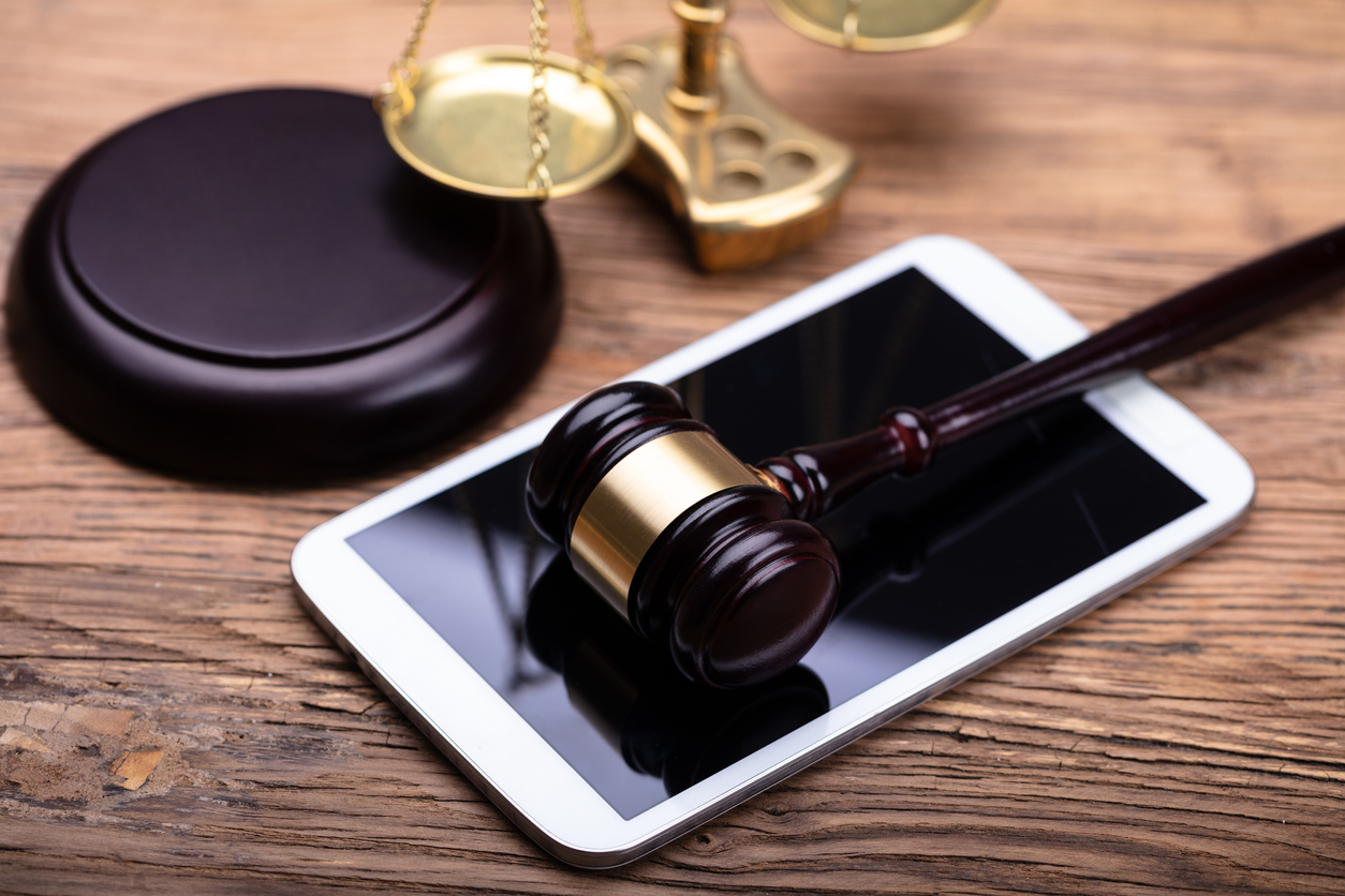 Law firms Gavel on Phone